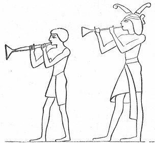 trumpets in ancient Egypt